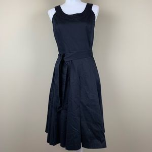 Calvin Klein a-line dress with tie at waist - NWOT